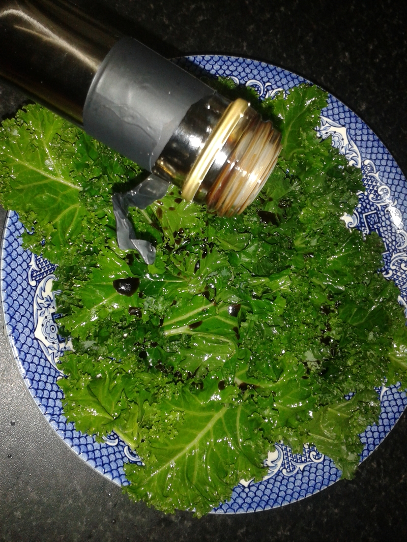 Quick Raw Kale Salad