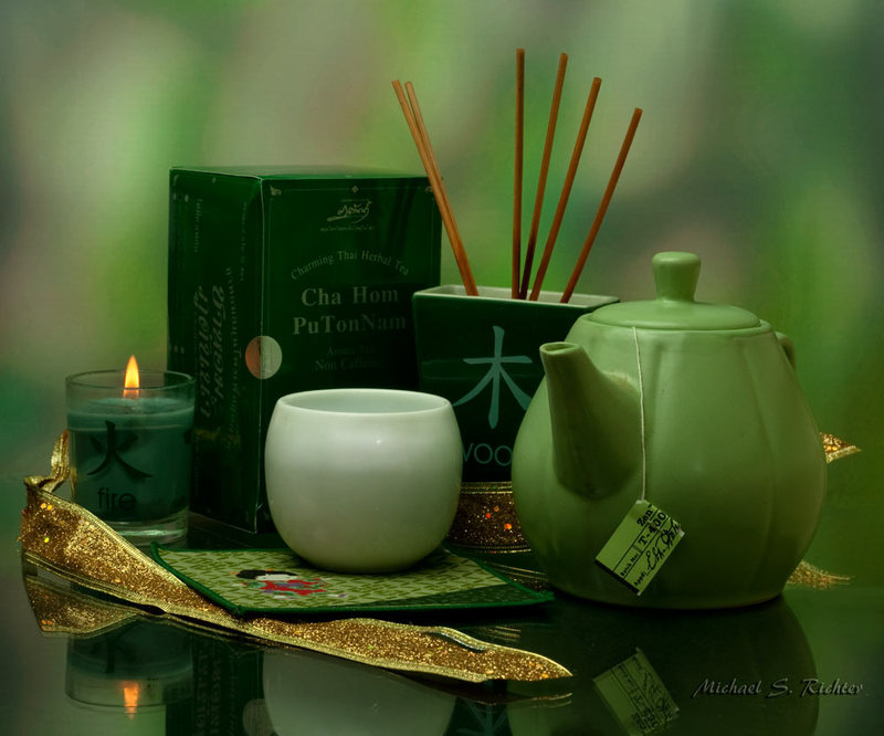 Tea, essential oils