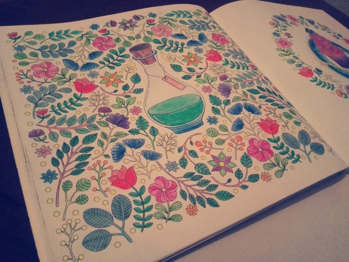 Anti stress colouring in