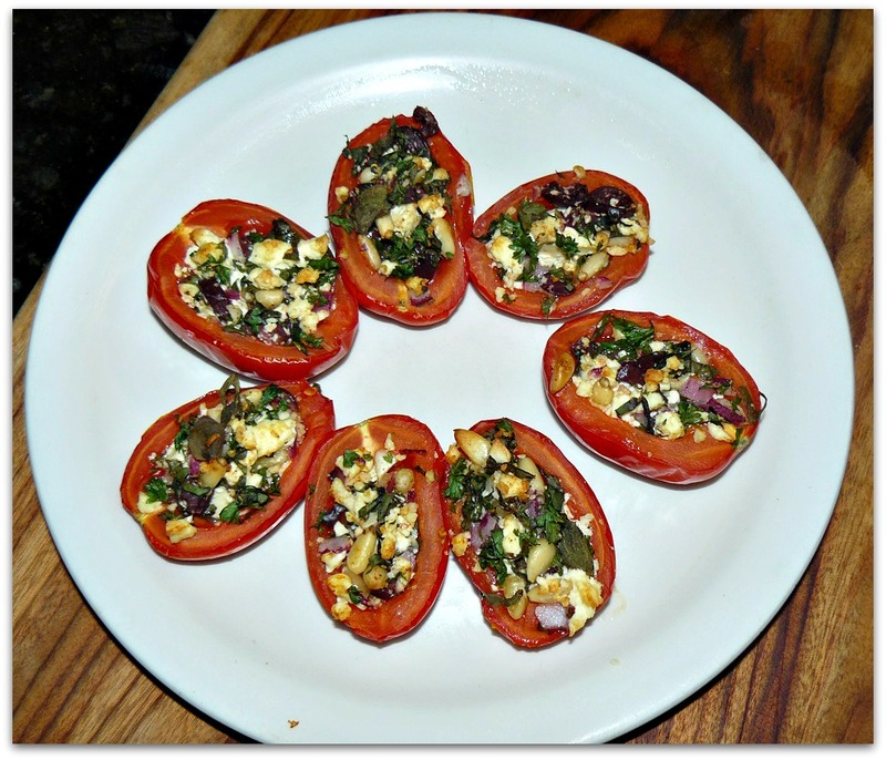 Article Mediterranean Style Roasted Roma Tomatoes