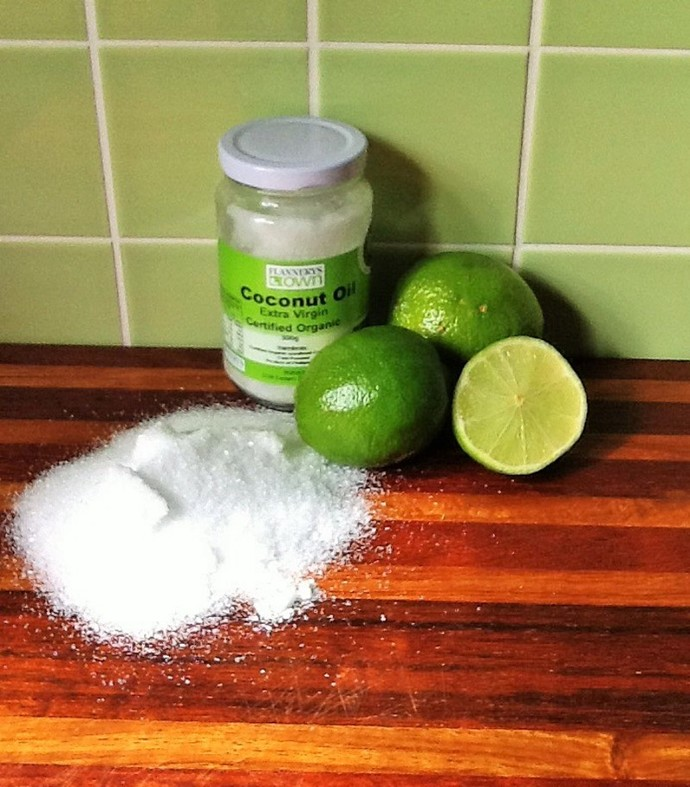 diy body scrub, body scrub recipe, lime coconut body scrub, lime body scrub recipe, homemade body scrub