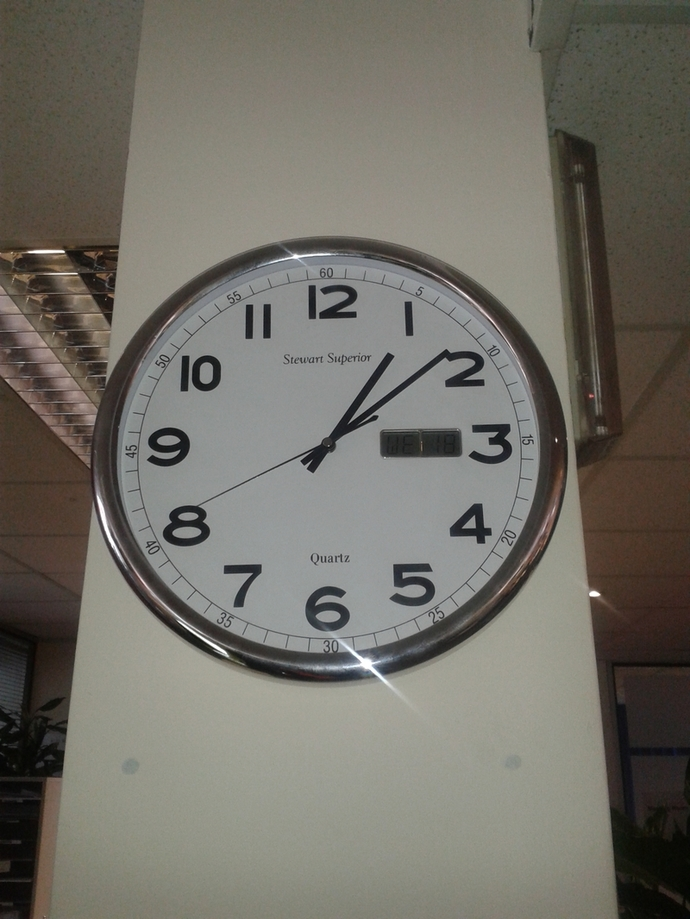 clock, time, office