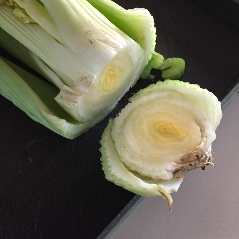 Limp celery