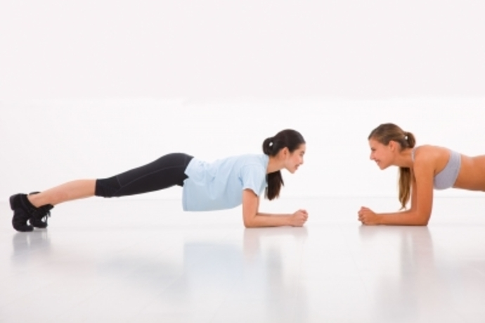 develop your own pt session, yoga plank
