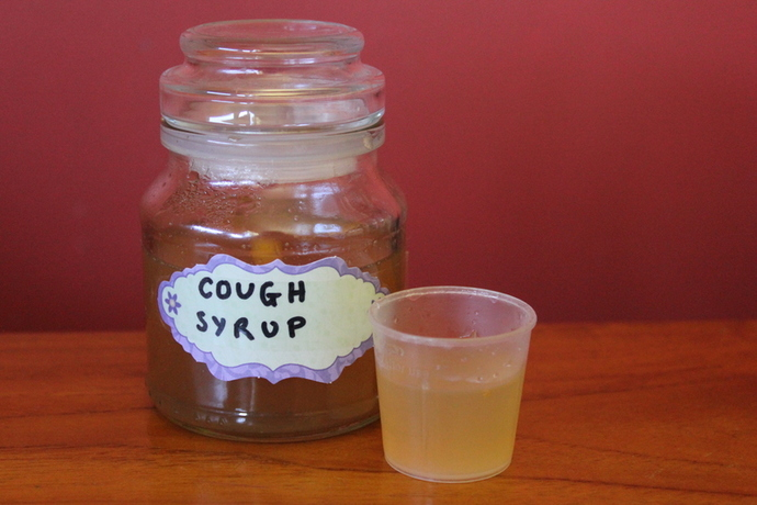 diy cough syrup, coughs, colds, home made cough syrup,