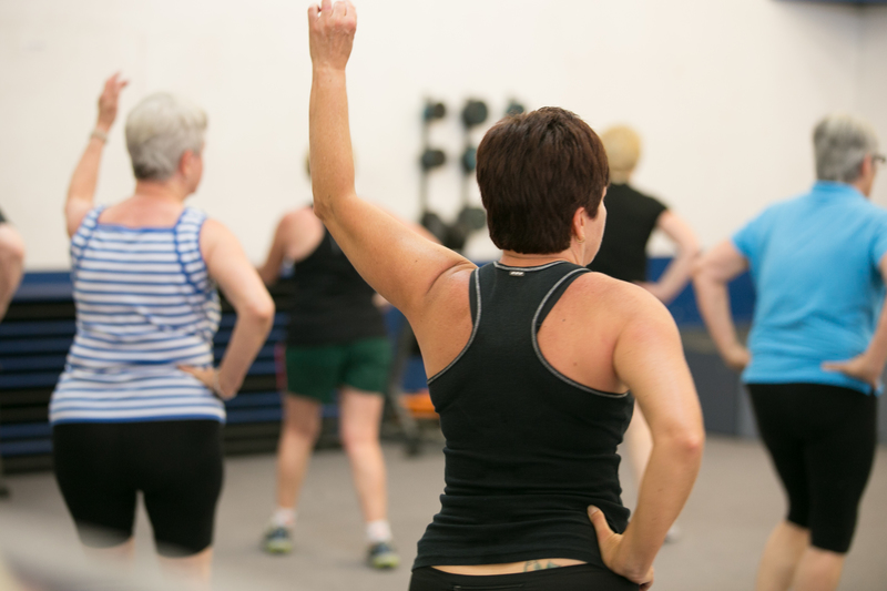 Elderly Fitness Class