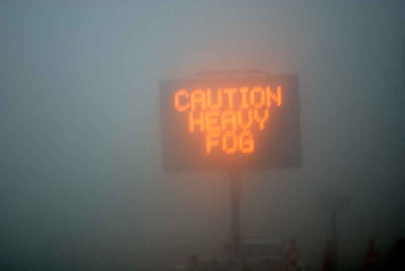 fog sign