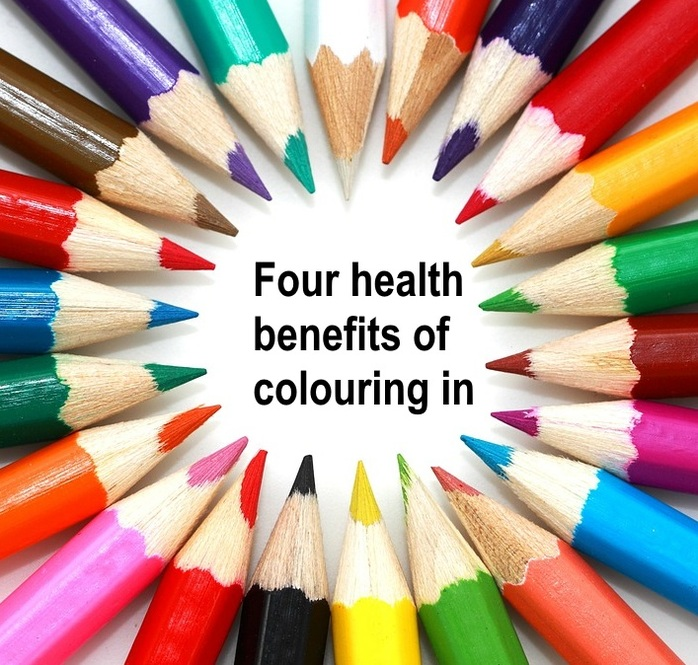 Four health benefits of colouring in