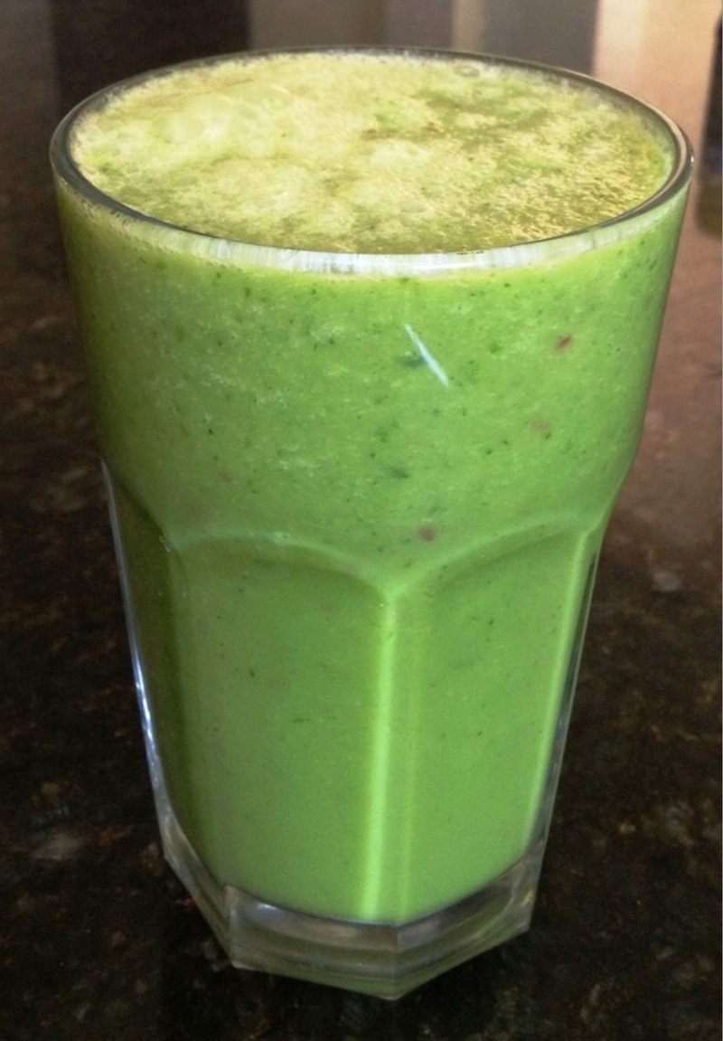 Green smoothie recipe for beginners
