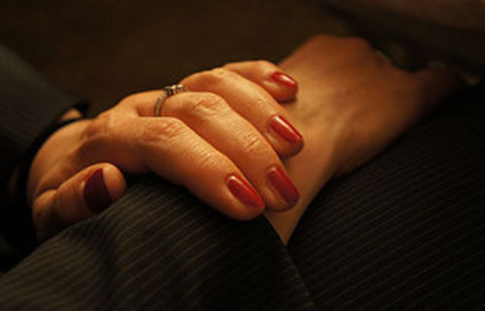 hands, woman, fingers, painted, massage, hand