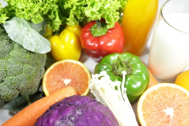 Healthy fruits and vegetables  - Skin care during winter