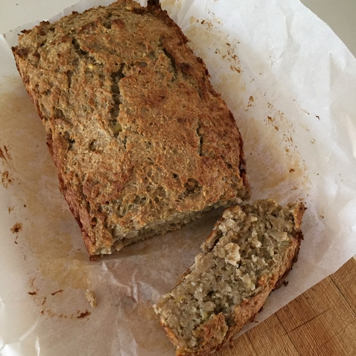 Healthy cheats banana bread