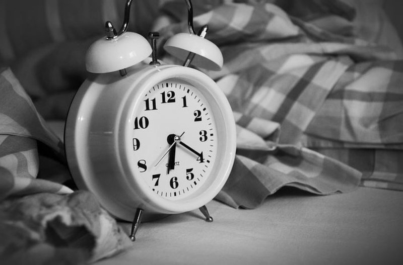 Hide the clock for better sleep
