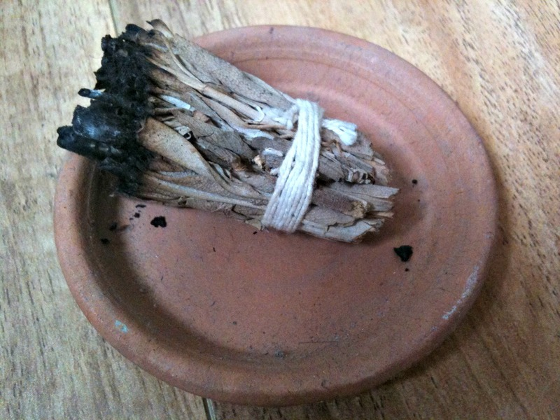Home Cleanse Smudging Your Home Smudge Stick Sage How
