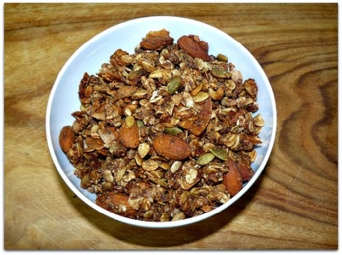 homemade granola, granola recipe, make your own granola