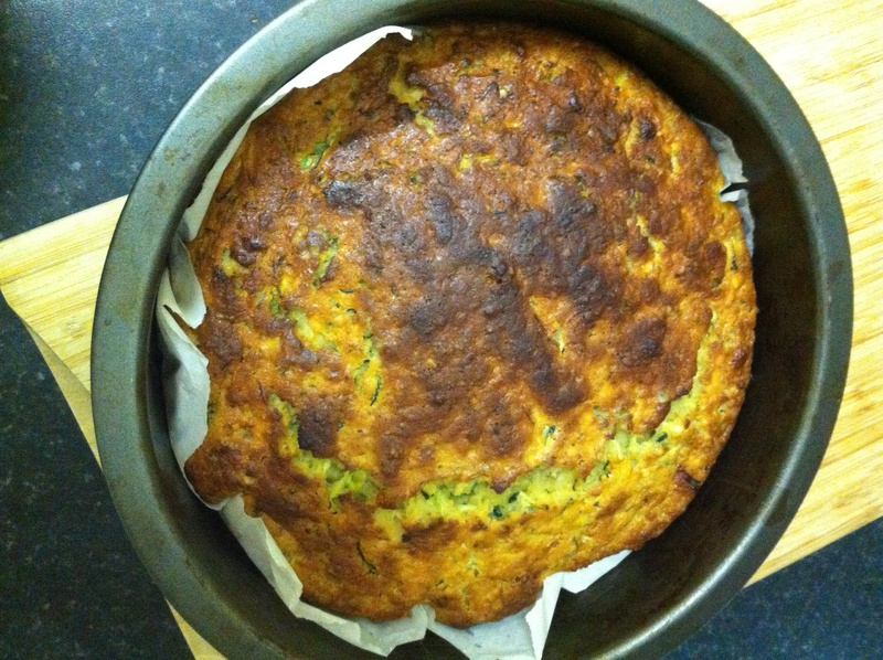 Apple and Courgette Cake