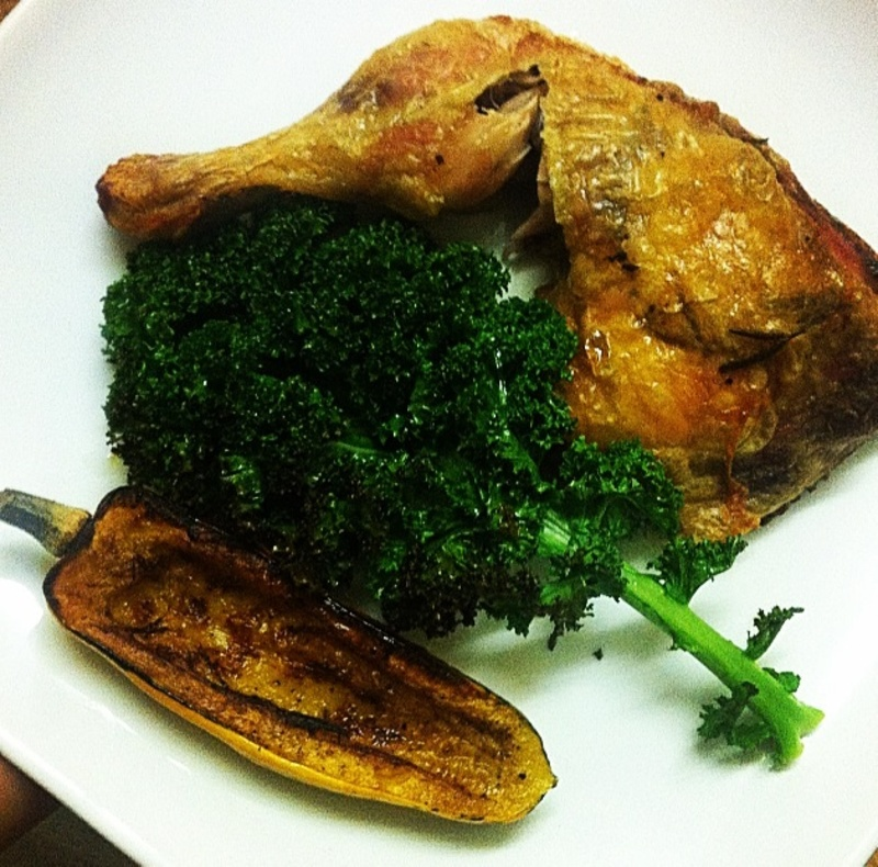Article Herb squash and coconut chicken - Healthy Hints