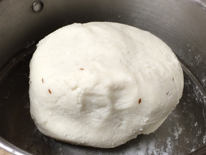 knead to a smooth dough