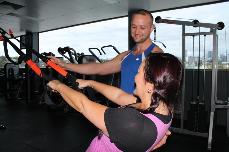 TRX: Developing muscle, preventing injury
