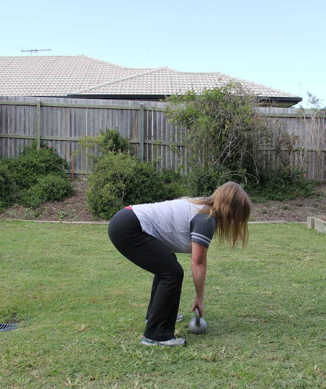 Tight rear end with kettlebell swings  - Kettlebells for a great tushy