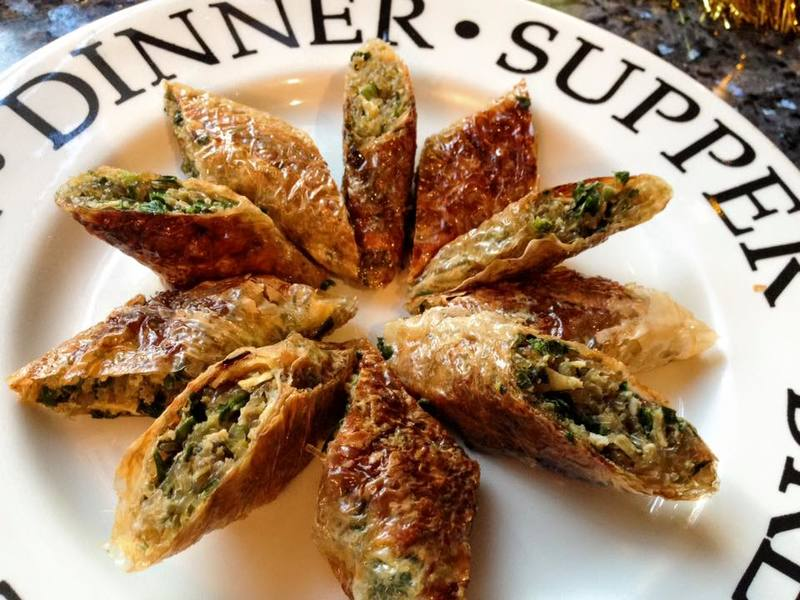 Soy Spring Rolls with Chive, Egg & Vermicelli Noodles