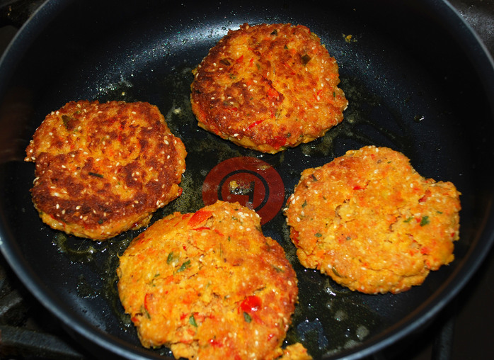 Spicy Vegetarian Burgers