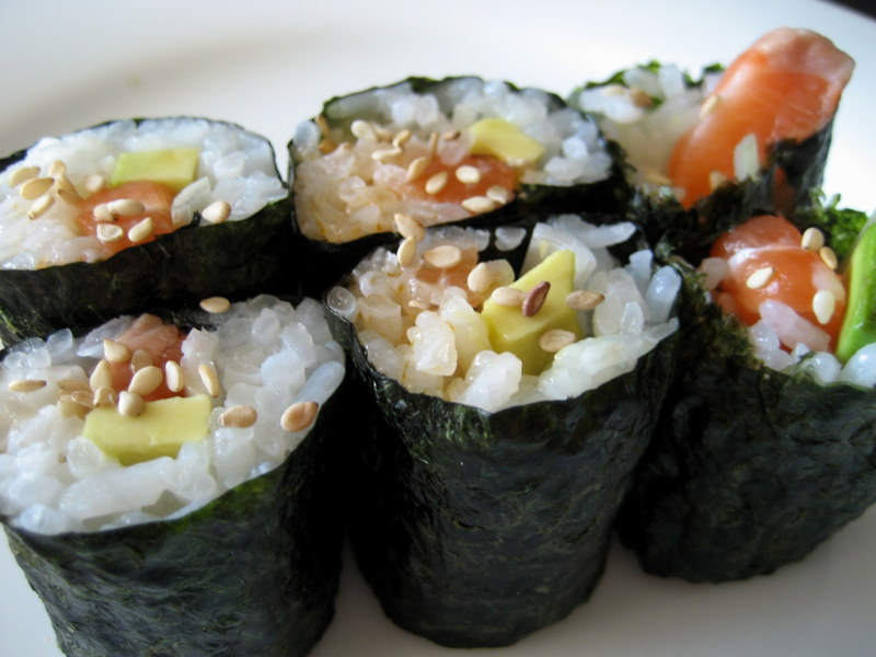 Sushi  - A healthy approach to menu planning part 2: Lunch