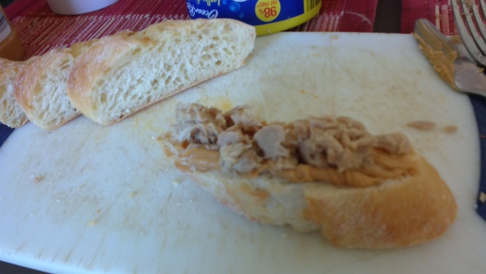 Tuna with Peanut Butter
